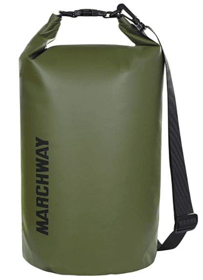 MARCHWAY Floating Waterproof Dry Bag 5L10L20L30L40L, Roll Top Sack Keeps Gear Dry for Kayaking, Rafting, Boating, Swimming, Camping, Hiking, Beach, Fishing